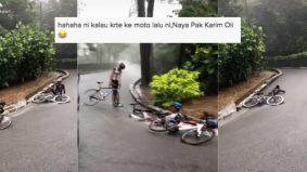 [VIDEO] Ramai ingatkan jatuh basikal, team berbasikal Terengganu bikin netizen tersenyum