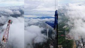[VIDEO]'Indahnya'- Lelaki kongsi pandangan dari atas menara PNB118 tarik perhatian