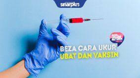 Beza cara ukur dos ubat dan vaksin