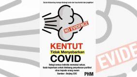 Jawapan Public Health Malaysia isu kentut tidak sebabkan Covid mencuit hati!