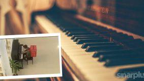 Abang Rider main piano bukan calang-calang rupanya...