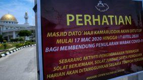 Ini sebab kenapa masjid masih ditutup walaupun sektor ekonomi mula dibuka