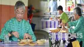 Agong berkenan santap di kedai roti tempayan, undang reaksi positif rakyat
