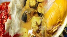 Tempoyak durian home made, mudah je kome!