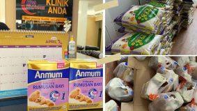 PKP: 'Kami tahu bagaimana rasanya tiada' - Klinik sedia barang dapur, susu formula percuma
