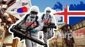 Tiga negara menang tanpa 'lockdown'