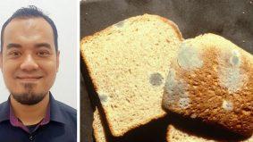 Tetap bahaya makan 'bahagian bersih' roti yang sudah berkulat