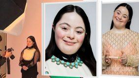 Remaja perempuan sindrom Down hiasi kempen maskara jenama Gucci