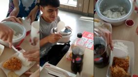 [VIDEO]Pemuda bawa periuk nasi masuk restoran undang dekah warganet raih 3.3 juta tontonan