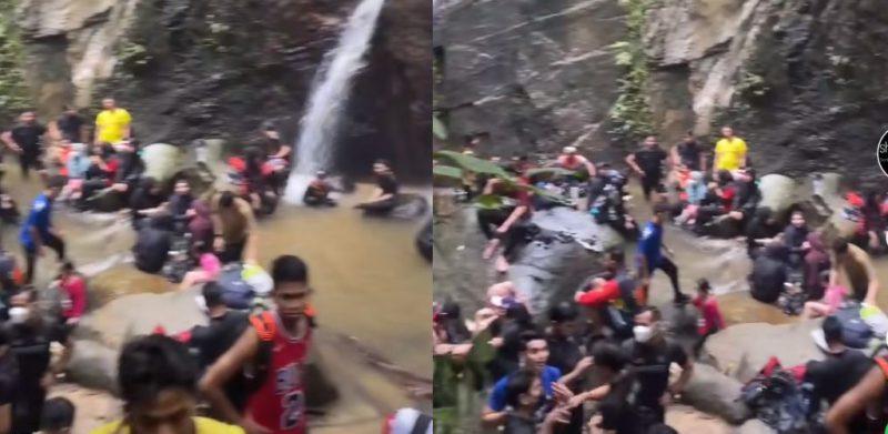 'Macam pesta air...' - Netizen bengang Sungai Pisang sesak