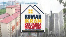 Cepat mohon! Permohonan Rumah IKRAM Keluarga Malaysia kini dibuka