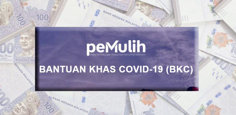 Bayaran Bantuan Khas Covid-19 Fasa 1 bermula 6 September ini