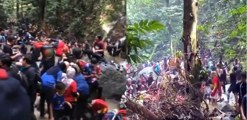 [VIDEO]'Macam pesta air...' - Netizen bengang Sungai Pisang sesak