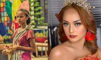 Dulu pengemis, kini cuba nasib bergelar Miss Universe