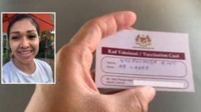 'Terima kasih Malaysia,' Nourul kongsi kad vaksinasi berguna di luar negara, jangan hilang!