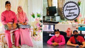 Anak syukur, doa kebahagiaan ibu 59 tahun temu jodoh pemuda 22 tahun