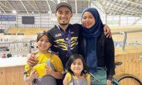 16 minggu berjauhan, Azizulhasni selamat pulang ke pangkuan keluarga di Australia