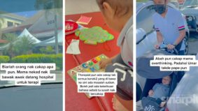 [VIDEO] Pelik anak umur 3 tahun masih belum pandai panggil mama, tindakan ibu muda ini dapat perhatian warganet