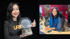 DJ Lin Menang Anugerah Penyampai Radio Paling Dipercayai