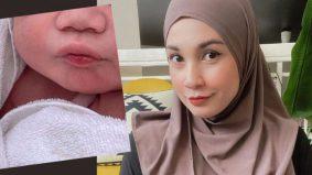 Selamat bersalin anak ketiga, Izreen Azminda timang 'hero' lagi