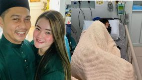 'Nak pulihkan sakit dia bukan senang…' – Almy Nadia dedah Fizz Fairuz alami sakit misteri