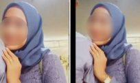 Bergambar paut lengan suami orang, aksi wanita dikecam netizen