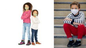 Dijamin selesa, senang bernafas. Pelitup muka khas untuk kanak-kanak dengan bahan antimikrob daripada Oura
