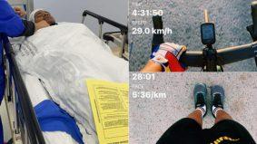 Lari 367km sebulan, berbasikal 1,300km seminggu, 'terlebih' bersukan lelaki hampir maut, perut terpaksa dibedah