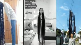 'Bela' selama 18 tahun, ramai seram lihat rambut gadis persis Rapunzel