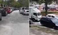 [VIDEO] Deretan 10 kereta parkir rosak dilanggar lori, tuntutan ganti rugi tidak dapat dilakukan kerana...