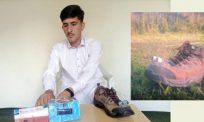 Remaja 17 tahun cipta kasut pintar, mudahkan OKU penglihatan berjalan