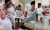 Sekali lafaz, Ayie Floor 88 sah bergelar suami Tasha Nawi