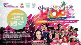 11 artis bersatu dalam muzik sempena Konsert Amal Maya Voices Of Hope 2021