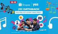Nikmati data 5GB percuma dengan setiap pembelian RM50 di Shopee, jangan lepaskan peluang keemasan ini