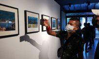 Aplikasi EyeJack hidupkan semula foto lama, usaha kreatif Balai Seni Negara Langkawi berjaya curi tumpuan pengunjung cilik
