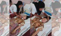 Terlantar 2 tahun akibat tumor pada saraf tunjang, ibu tabah ini mohon keajaiban buat Baby