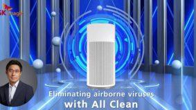 All Clean Virus Fit SK magic bantu singkirkan virus, bakteria, habuk di dalam ruangan tertutup. Gajet wajib ada di rumah